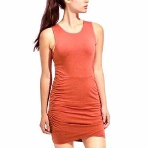 Athleta Seeker Ruched Tank Dress